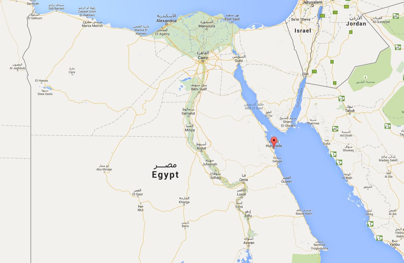 egipat mapa Eurojet priče sa putovanja: Hurgada   najznačajnije letovalište  egipat mapa