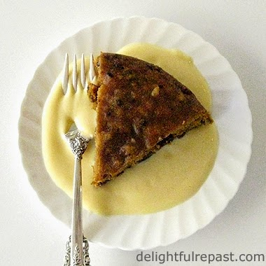 Steamed Pumpkin Pudding / www.delightfulrepast.com