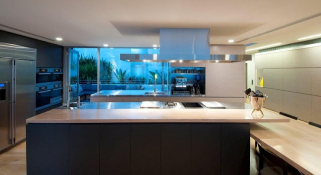 Photo of modern kitchen in an amazing home in Sydney, Australia