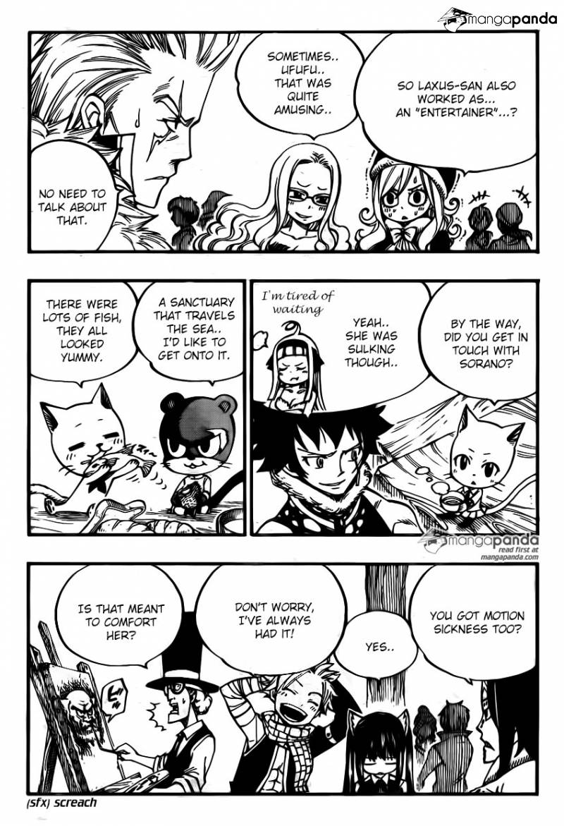 Fairy Tail Ch 448: FIGHT THE POWER