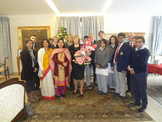Farewell meeting hosted by Ambassador of Slovenia at her residence