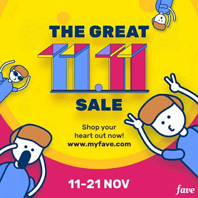 Fave Promo Code Malaysia  11.11 Sale Discount Offer