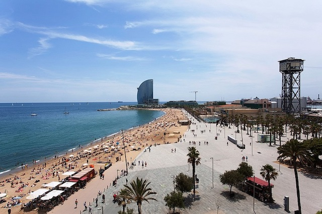 Região de Port Vell e Barceloneta