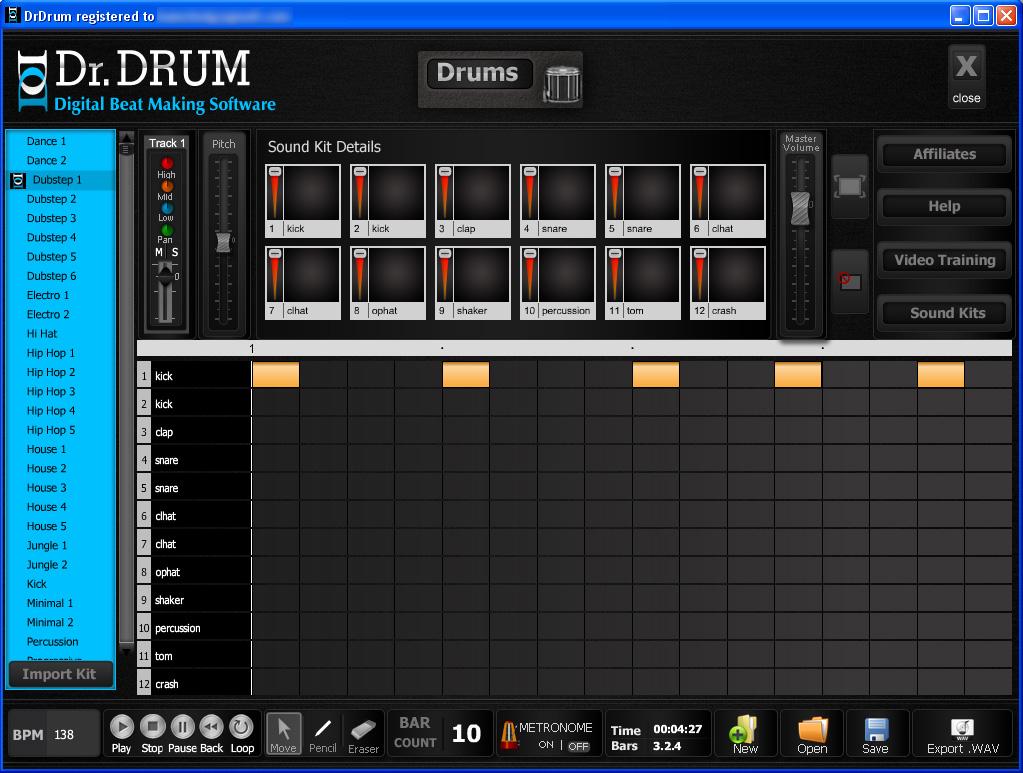 dr drum beat maker vs dubturbo best beats software for pc. Black Bedroom Furniture Sets. Home Design Ideas