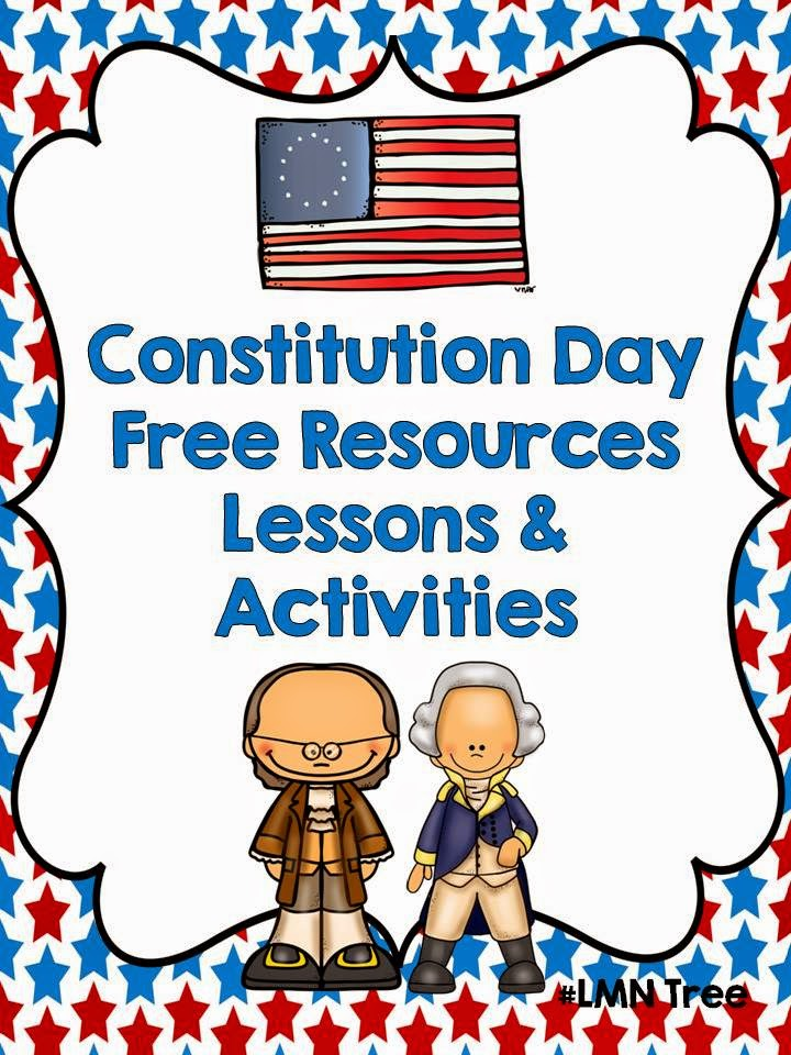 Lmn tree hooray for constitution day great free for Constitution day coloring pages first grade