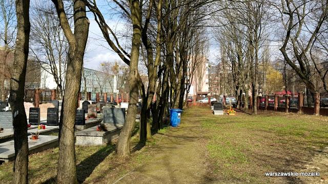 Warszawa Warsaw Wola nekropolia 1890 nagrobki groby Karaimi