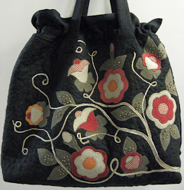 Quilt bag, applique