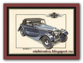 "Heritage Crafts Серия: Cars ""CMO164 1939 Morgan"""