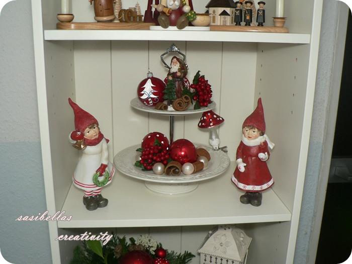 Etagere Weihnachtsdeko.Weihnachtsdeko 2011 Die 2 Sasibella