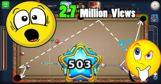 Video that exceeded 2 million views in 8 ball pool game