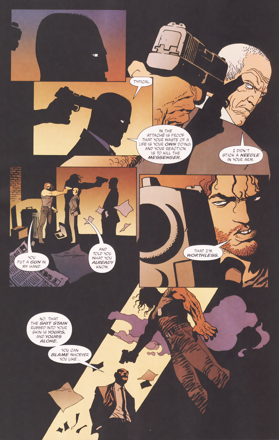 Read online 100 Bullets comic -  Issue #48 - 10