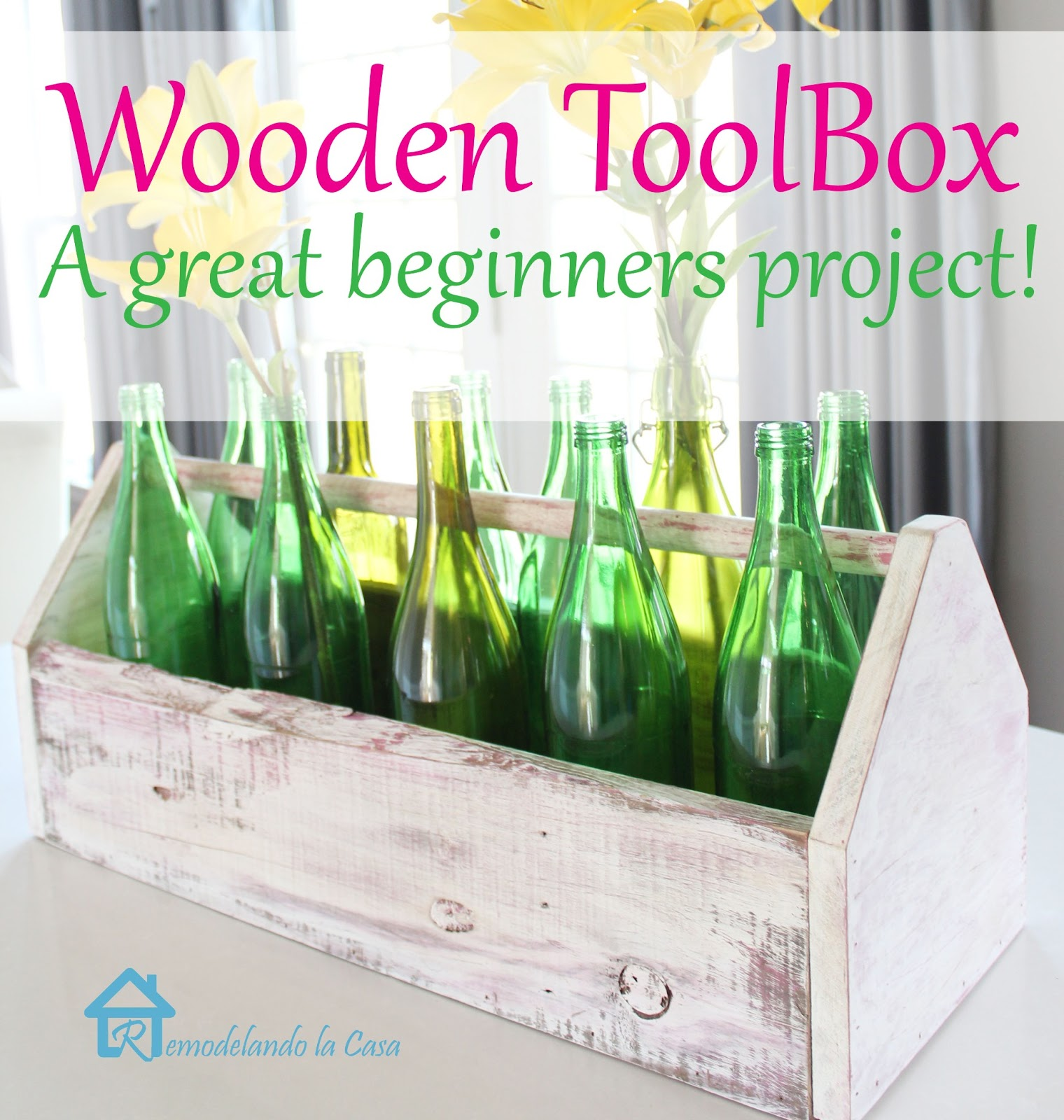 how to make a wooden toolbox