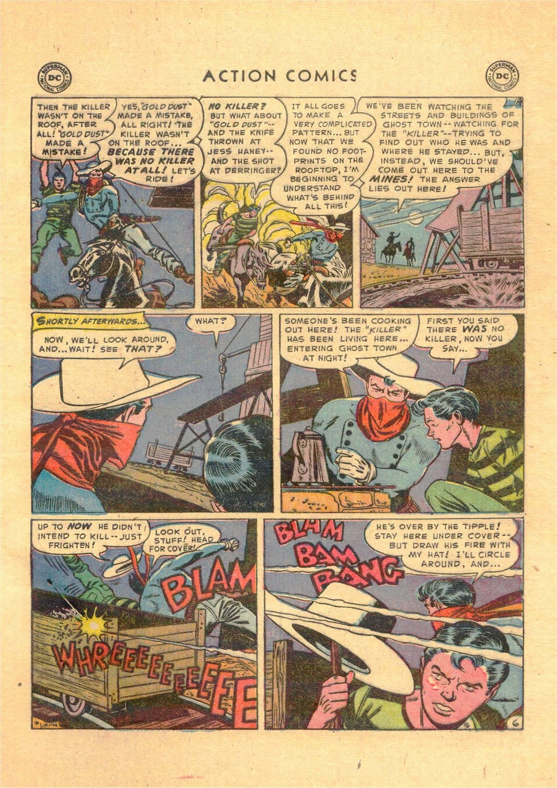 Read online Action Comics (1938) comic -  Issue #181 - 38