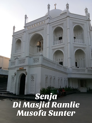 Senja di Masjid Ramlie Musofa Sunter