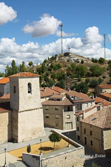 Vistas desde el Torreón de los Guzmán, Caleruega, Burgos
