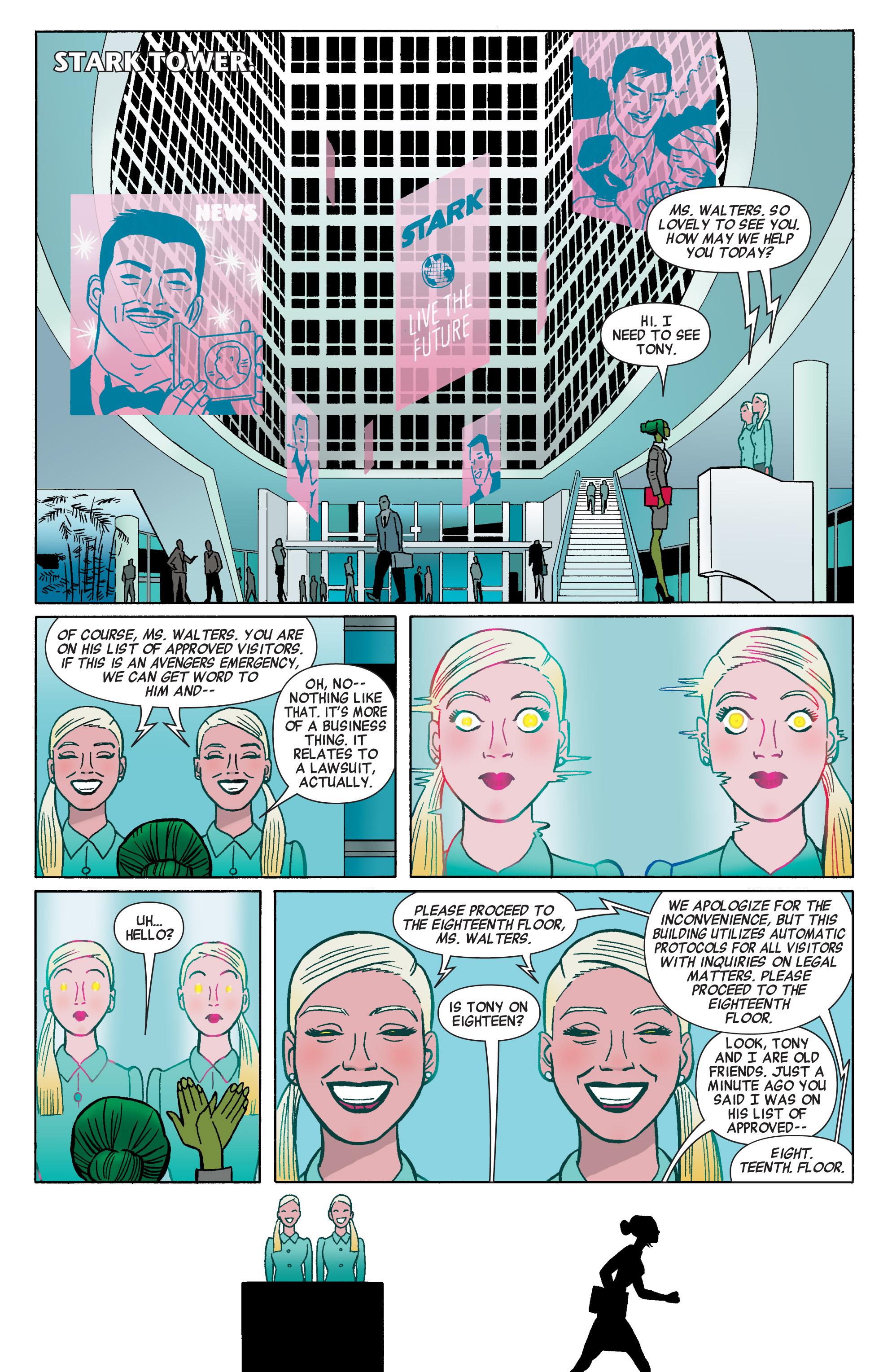 Read online She-Hulk (2014) comic -  Issue #1 - 11