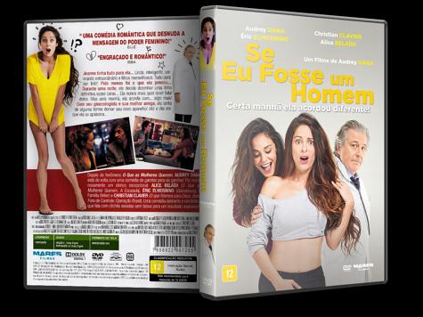 Capa DVD Se Eu Fosse Um Homem
