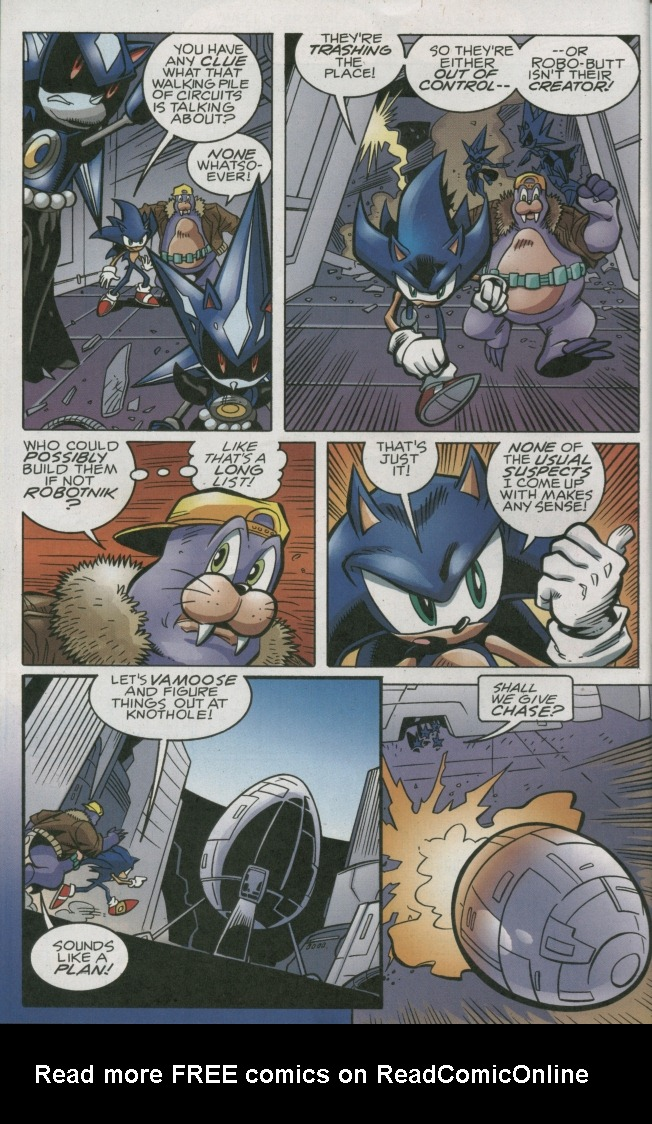 Read online Sonic The Hedgehog comic -  Issue #158 - 8