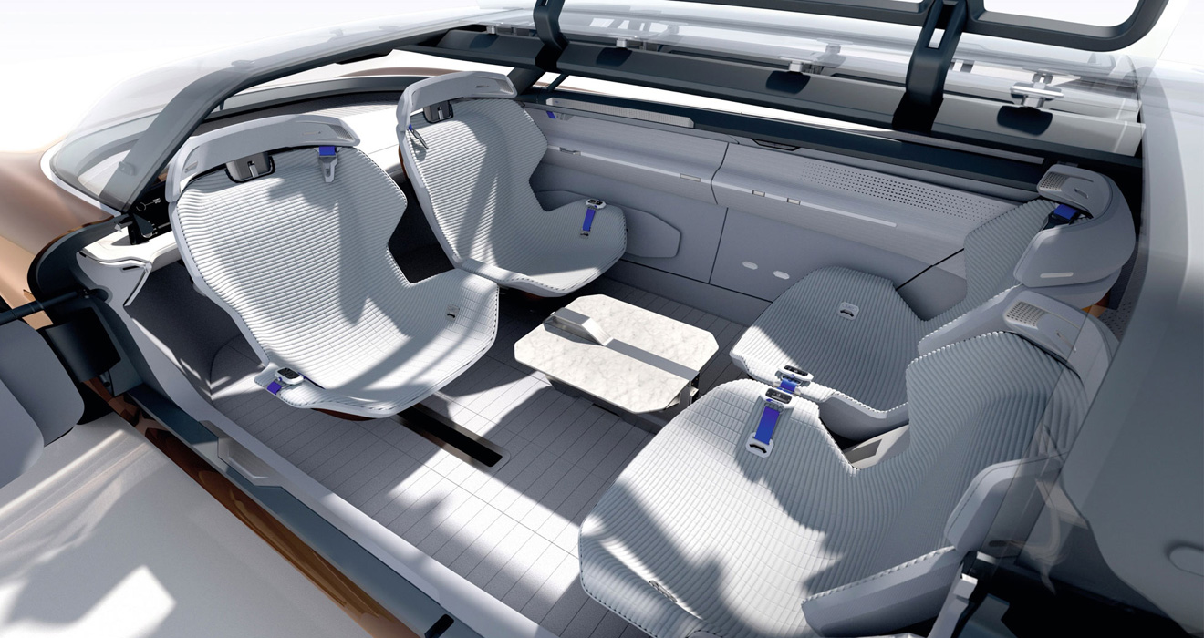Renault Symbioz interior converts into a lounge-like space