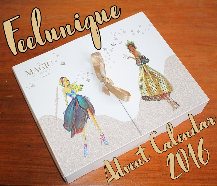 Review and unboxing of the Feelunique Magic of Beauty Advent Calendar 2016