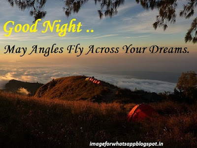 Good Night Image With Message