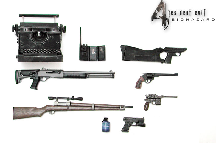 Resident Evil 4 Pc Mods Weapons - creditsfile