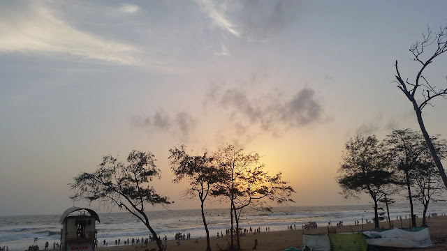 Sunset at Calangute