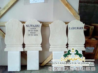 Tulisan Di Batu Nisan, Harga Kijing Batu Nisan, Batu Nisan Model Jawa