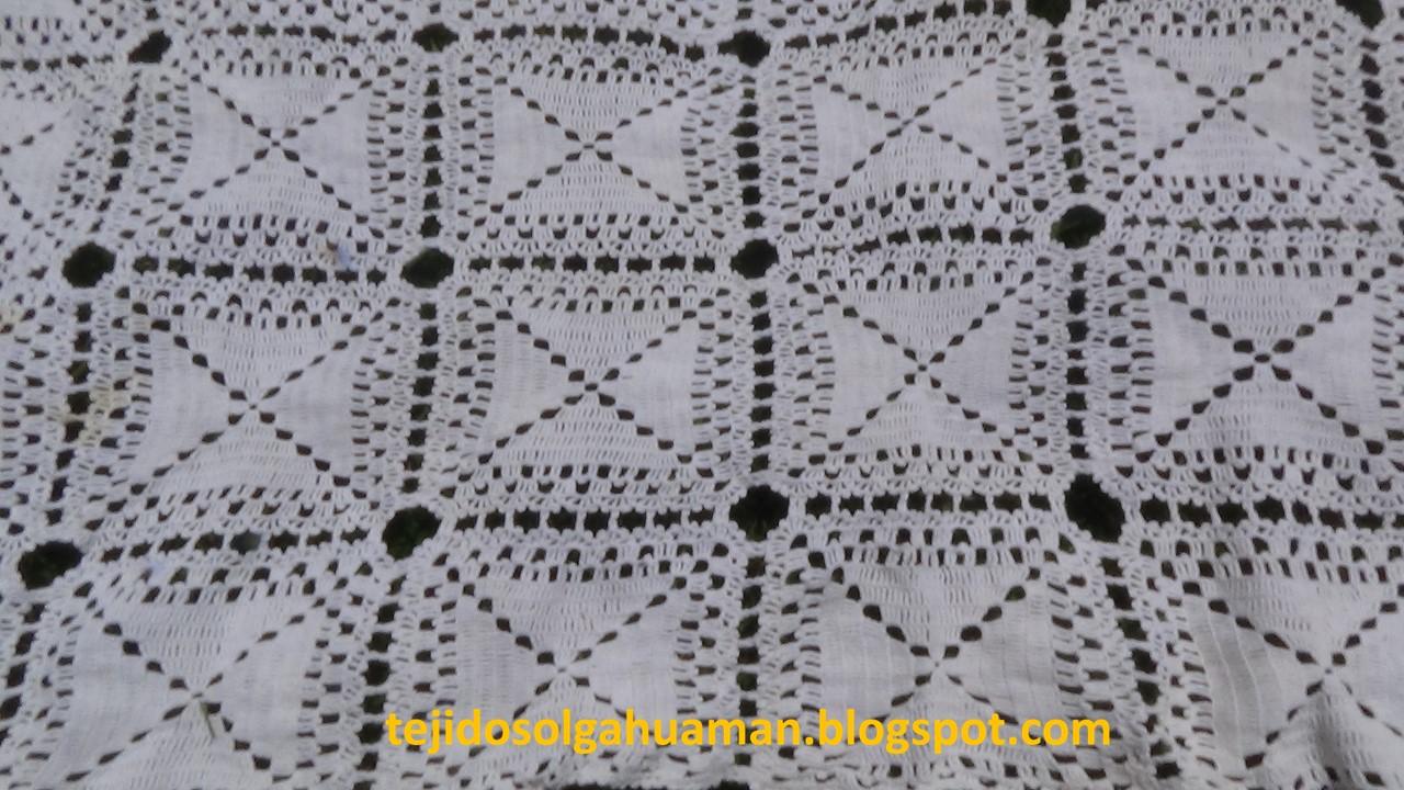 Tejidos Olga Huaman Tapete De Cuadros Tejidos A Crochet