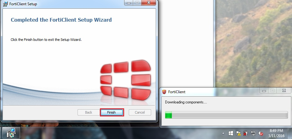 Basic IT Informations: How to install Fortigate Client in windows