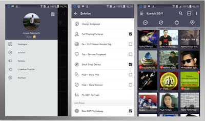 Mi-BBM DarkNavy New V.2.13.1.14 Full Features