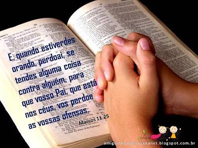 versículo bíblico para meditação - marcos 11.25