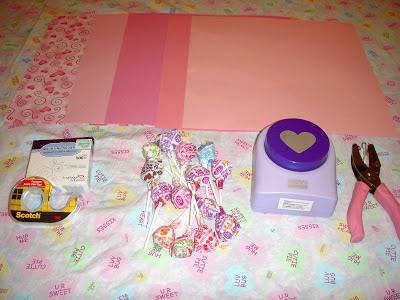 Margaret's Morsels | Dum Dums Valentine Flowers