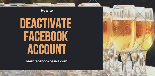 How to deactivate Facebook account | Disable Facebook account Temporarily | Deactivating Facebook New Account Right Now