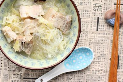soupe choucroute et lard