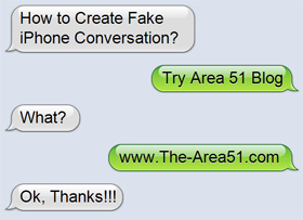 How to Create a Fake iPhone Text Conversation | The-Area51 com