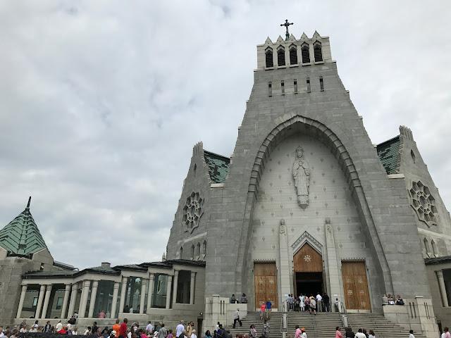 église du Cap de la Madeleine Québec