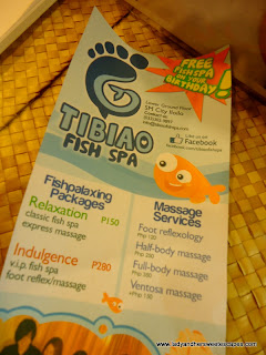 services at Tibiao Fish Spa