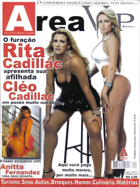 Cléo e Rita Cadillac nuas