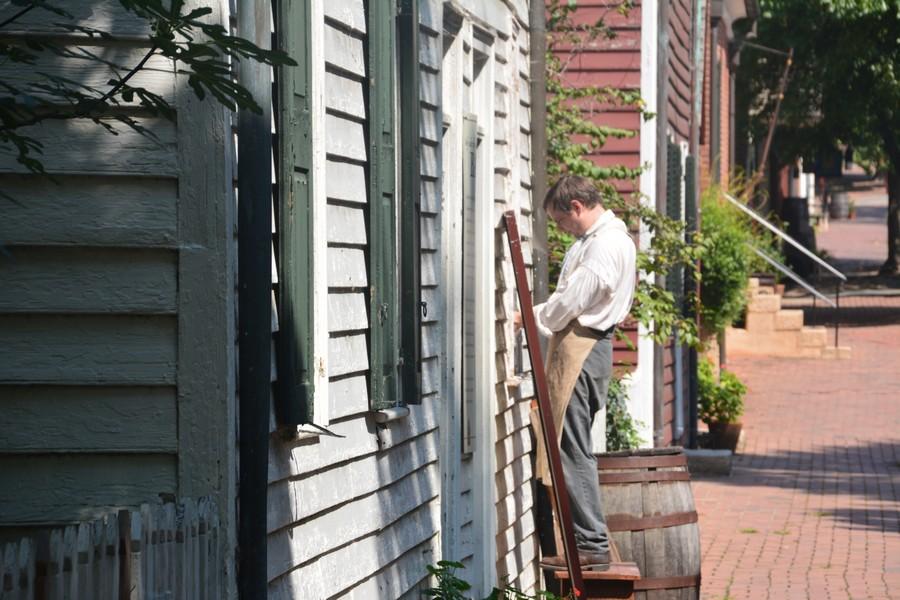 Bricolage à Old Salem