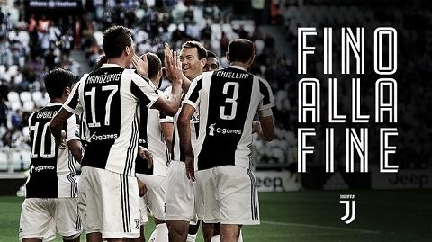 Các cầu thủ của đội tuyển Juventus