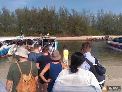 speedboat pakej, krabi,