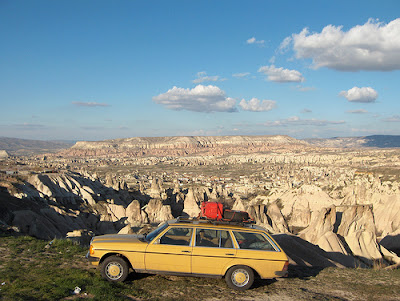 Cappadocia on the road