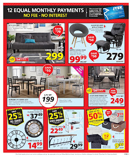 JYSK Weekly Flyer Circulaire January 18 - 24, 2018