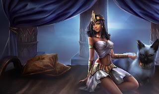 Chinese Pharaoh Nidalee Skin