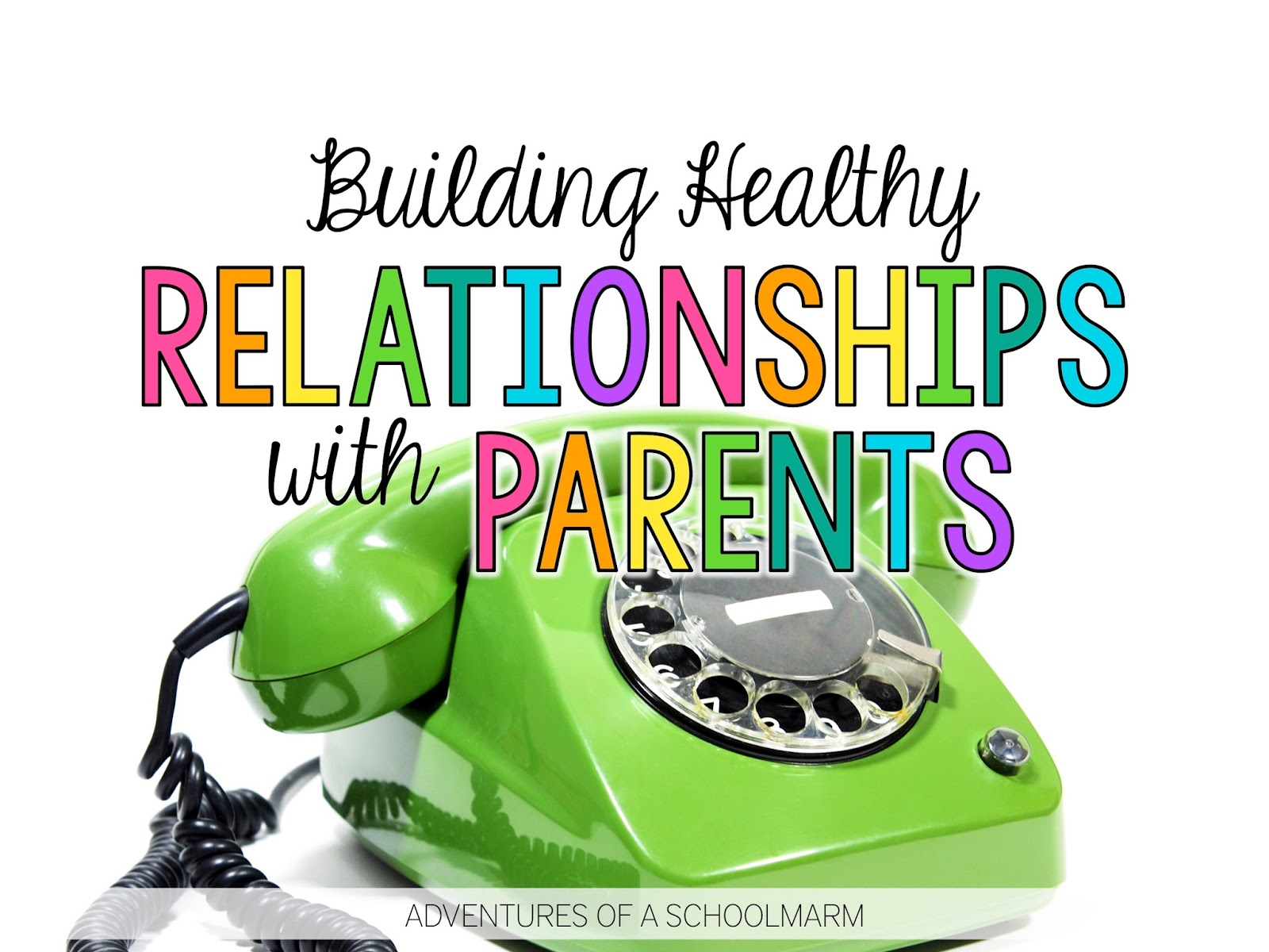 Building quality relationships with parents can be hard. We might have great relationships with almost all of our students' families, but it takes just one difficult parent to leave us feeling like failures. This post is full of real, actionable strategies to help teachers when they are facing challenges with parent communication. // Adventures of a Schoolmarm