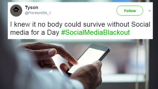 #SocialMediaBlackout: South Africans tweet despite boycott call