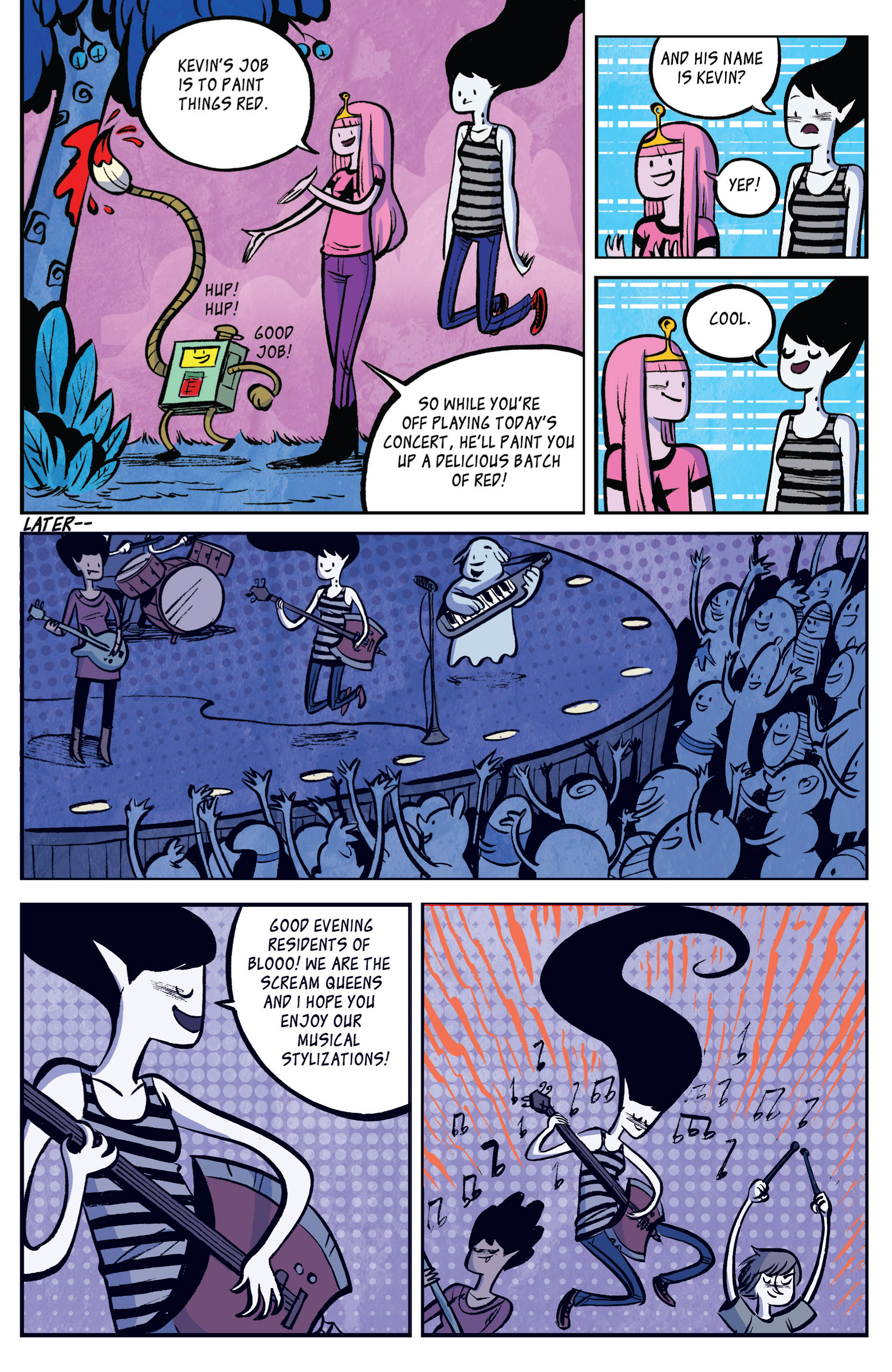 Read online Adventure Time: Marceline and the Scream Queens comic -  Issue #2 - 24