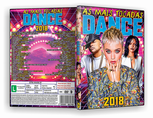 DVD-R AS MAIS TOCADAS DO DANCE – AUTORADO