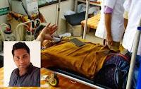 Jovem de casamento marcado é levado às pressas para hospital após ter o órgão sexual cortado pela amante.